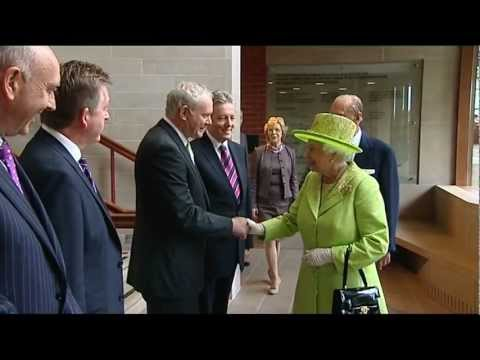 The #handshake that made history: Queen Elizabeth and Sinn Fein leader meet