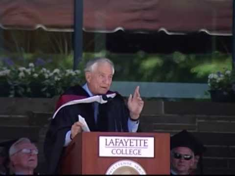 Garry Marshall Delivers 177th Commencement Address at Lafayette College