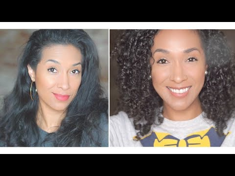 Curly hairstyles - STRAIGHT TO CURLY - NO HEAT DAMAGE - REVERTING BACK TO CURLS