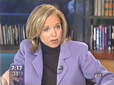 Post 9/11 and Anthrax - NBC Today Oct 29 2001