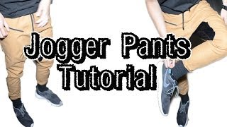 Jogger Pants Tutorial - YouTube