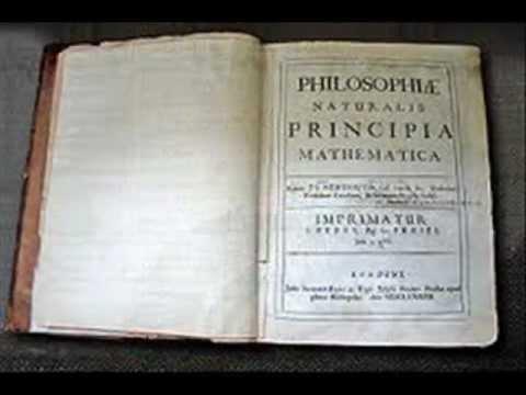 Дијалог култура: Исак Њутн, Математички принципи природне филозофије