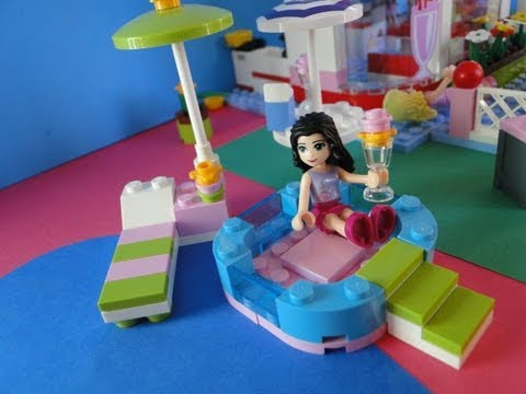 comment construire la piscine lego friends