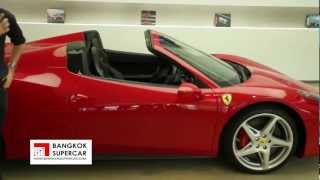 Ferrari 458 Spider : Supercar Review By Bangkok Supercar