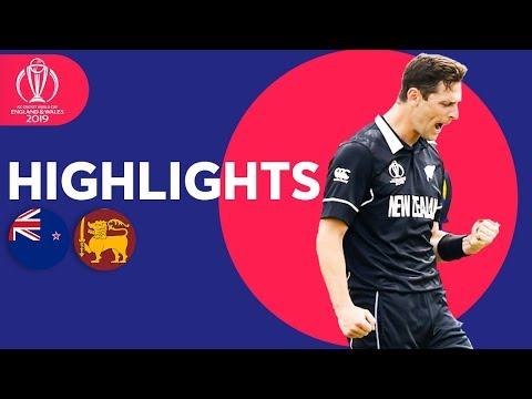 Henry Takes 3 In Big Win | New Zealand vs Sri Lanka | ICC Cricket World Cup 2019 - Match Highlights