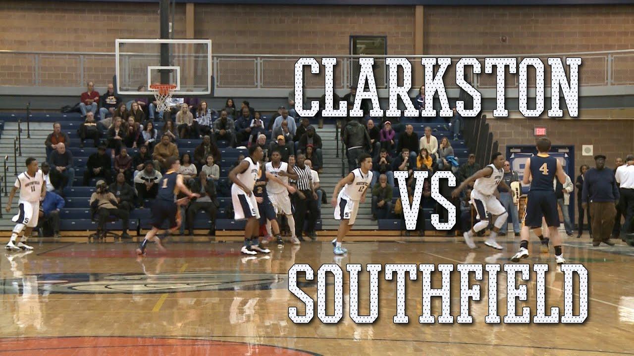 Basketball: Clarkston High Wolves vs Southfield High Bluejays