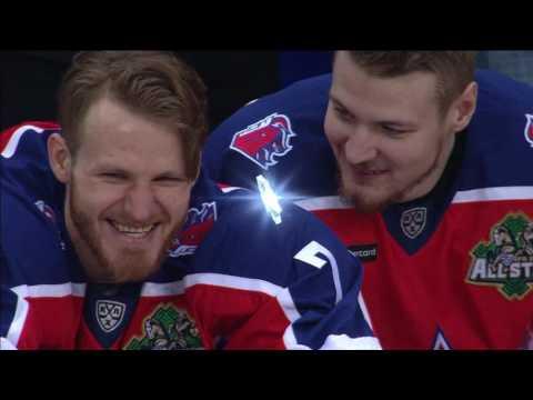 KHL All Star 2017 Super Skills: Hardest shot (видео)