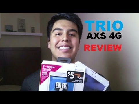 Trio AXS 4G Quadcore Tablet Review - Best Budget Tablet?