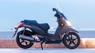 9. 2015 SYM Citycom 300i Scooter Engine Capacity 263cc