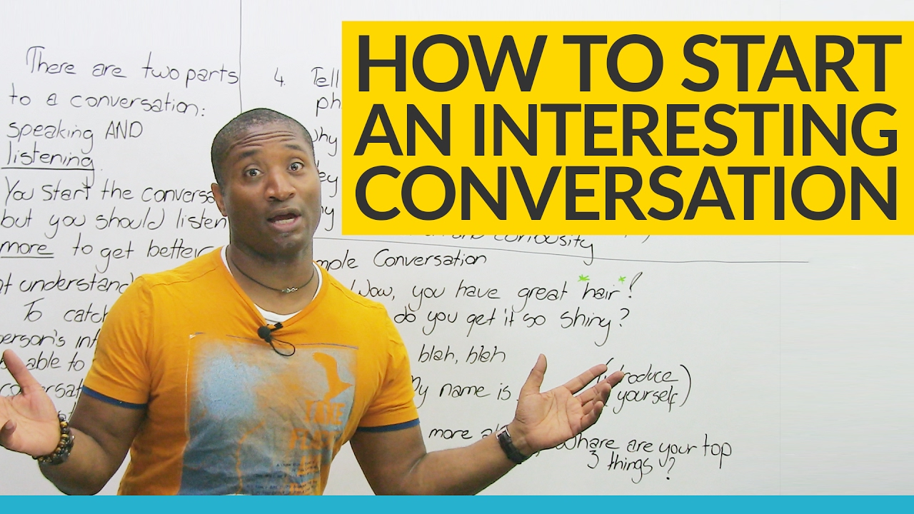 how to continue a conversation after how are you