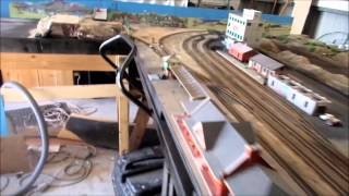 Latest layout focuses on a junction station with end to end points North and South(Junction in the middle)