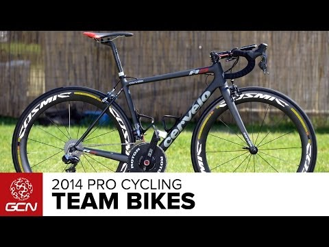 the pro - GCN's guide to the pro bikes of the 2014 peloton. Follow GCN on YouTube: http://gcn.eu/gcnsubs A new season means new bikes for the pros. As always, they get...
