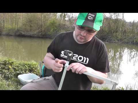 Bricolage de Matériel de pêche au coup - support porte bassines économique
