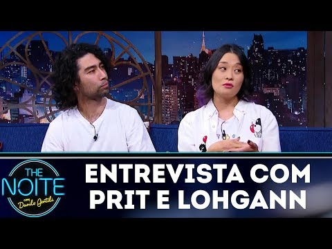 Entrevista com Prit e Lohgann  The Noite (15/12/17)