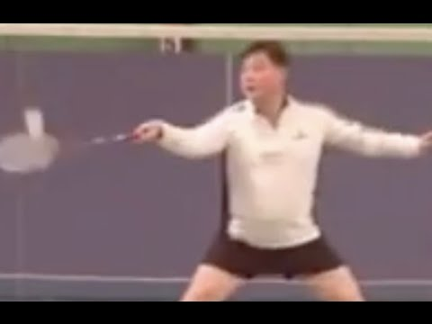 Badminton-Footwork Skill (5) Steps to the net in Singles