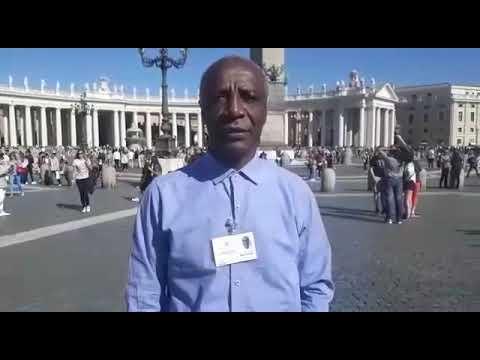 Monsenhor José Celestino dos Santos - Sínodo para a Amazônia (Roma)