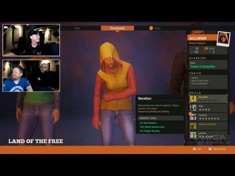 Generating State of Decay 2 Characters with Matt Heiniger and Jørgen Tjernø! (видео)