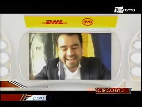 DHL incorpora vehículo eléctrico BYD para reducir emisiones de carbono
