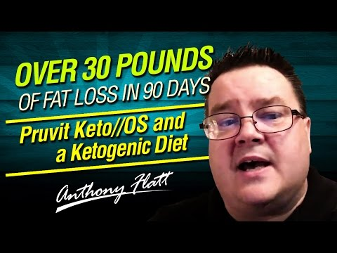 Over 30 pounds of fat loss in 90 days Pruvit Keto//OS and a Ketogenic Diet. Keto OS Review