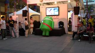 Android on crack..lol (he was at Google I/O 2011,more of him in the description)