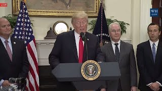 "LIVE: President Donald Trump Announcement Regarding a Pharmaceutical Glass Packaging InitiativeLIKE  COMMENT  SHARE  SUBSCRIBE & HIT THAT BELL TO NEVER MISS OUT! THANKS!――――――――――――――――――――――――――――――► Welcome to the President Donald Trump News Channel!► We Bring You The Latest News & Politics► Remember to Click the 🔔 BELL next to Subscribe Button► To Turn on Notifications! Thanks!► Subscribe ➠ Like ➠ Comment ➠ Share! ► Relax & Have a Great Time! ➤ If You Enjoy The Channel Please Consider To Subscribe➥ Its Greatly Appreciated! 🗽►Any Questions �►Don't Hesitate To Message Us! 📩――――――――――――――――――――――――――――――▼ Socials ▼► https://goo.gl/vEyj3D                                           Group► http://twitter.com/breakingbad263                   Twitter► http://www.facebook.com/breakingbad263    Facebook► https://goo.gl/3ifqdH                                           Google +► https://goo.gl/p6Hfol                                           Community[Open 24/7] TRUMP CHAT https://goo.gl/8qfa5C[LIVE STREAM] LINKhttps://goo.gl/OkcdqOPlaylists : ➠ Latest News & Politics Playlist https://goo.gl/muNB8L➠ Donald Trump Music Playlist https://goo.gl/Rra2dw➠ Donald Trump Playlist https://goo.gl/mu0dBj Enjoy All Events!➠ Google + Community https://goo.gl/yTR9F3★ [̲̅&̲̅] [̲̅M̲̅][̲̅O̲̅][̲̅R̲̅][̲̅E̲̅] ★We Bring You All The Latest News & Politics. Also We Show all President Donald Trump Press Conference, Speeches, Events. Including Sean Spicer Press Briefing From The White House. All Of This You Can Watch At Our LIVE STREAM Right Here! Watch Debates From The Senate Floor, Enjoy Our Chat! We Got Full Speeces In HD. Watch news on top stories on president trump and politics news and top stories us news and world news. This is donald trump live news this is also breaking and latest news in politics news and us news and word news ! President donald trump wants to get the investigations done with, president trump has been open about getting to the bottom of this whole ordeal so he can move past it. The political news and politics news in latest news in top stories and current events and world news and news today and breaking news today and latest news on russia and politics and russia investigation.ENPThe Footage We Use Is Owned By Our Government Which Falls Under Public Domain.No copyright intended. All content used in adherence to Fair Use copyright law.About the Video / Community Guidelines This footage is NOT intended to be violent or glorify violence in any way. We are sharing the footage STRICTLY for the purposes of news reporting and educating.Please See The Copyright Laws Below :Copyright Law 105. Subject matter of copyright: United States Government works Copyright protection under this title is not available for any work of the United States Government, but the United States Government is not precluded from receiving and holding copyrights transferred to it by assignment, bequest, or otherwise.Copyright Disclaimer Under Section 107 of the Copyright Act 1976, allowance is made for ""fair use"" for purposes such as criticism, comment, news reporting, teaching, scholarship, and research. Fair use is a use permitted by copyright statute that might otherwise be infringing. Non-profit, educational or personal use tips the balance in favor of fair use.If There Is Any Concern Or Problem With Our Channel In Anyone's View, Please Contact Us.Ⓔntertainment Ⓝews PoliticsWe've got you covered!"