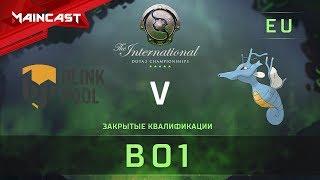 Blinkpool vs Kingdra, The International 2018, Закрытые квалификации | Европа