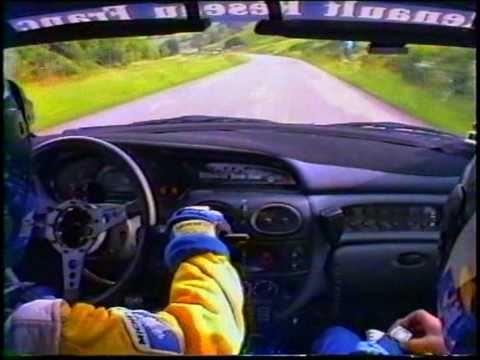 jean ragnotti - renault megane maxi - alsace - vosges 1996