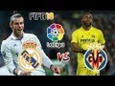 BÖYLE MAÇ ANCAK OYUNDA OLUR!!-FIFA 18 REAL MADRID-VILLAREAL