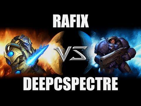 Rafix (P) VS DeepCSpectre (T) -- Starcraft 2 [LAGTV]