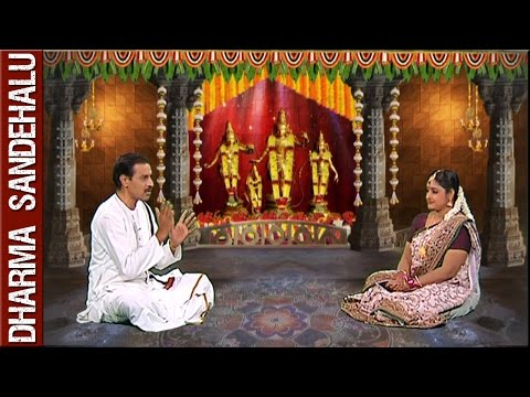 Sri Kakunuri Suryanarayana Murthy || Dharma Sandehalu || 12th April 2016 || Bhakthi TV