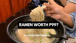 Affordable ramen in Manila! Get authentic Japanese ramen for only P99!