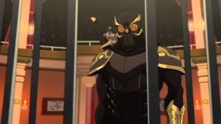 Talon Murders the Court of Owls - Batman VS Robin