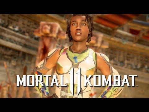 Mortal Kombat 11 - Jacqui Briggs Official Gameplay Reveal & Moves Breakdown