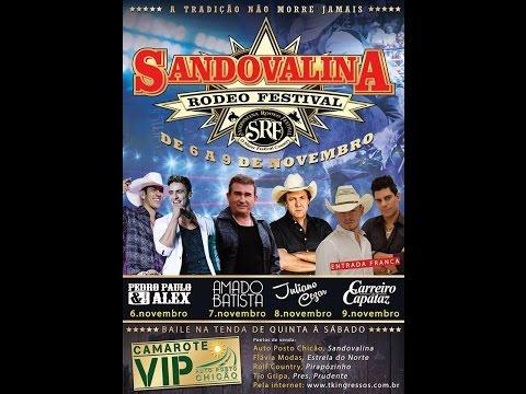 XIV Sandovalina Rodeio Festival - Montarias em Touros