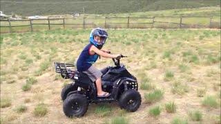 7. Jacob gets a 4-wheeler!