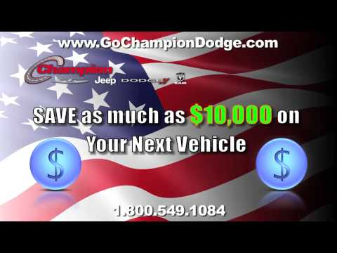 DODGE & JEEP July 4th Sale - Los Angeles, Cerritos, Downey CA - RAM & CHRYSLER - Event