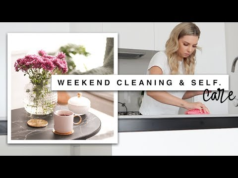 Weekend Cleaning Routine & Self Care Day!