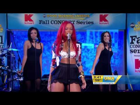 Rihanna Only Girl In The World LIVE GMA