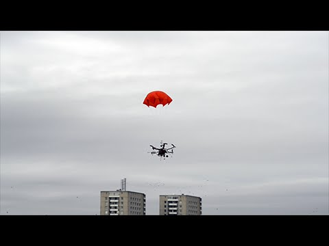 DJI F550 Hexacopter Parachute Test