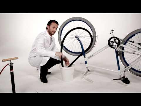 Hoe plak je een fietsband?