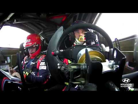 Rally Italia Sardegna Best of: On-board with Thierry - Hyundai Motorsport 2018