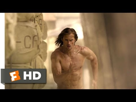 The Legend of Tarzan (2016) - Wildebeest Stampede Scene (8/9) | Movieclips