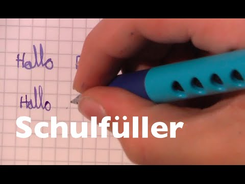 ① Kinder testen Schulfüller Fountain Pen Review