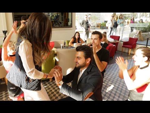 Video Flash mob marry you Bruno mars proposal - Hassan & Hala – Lina's (Backyard Hazmieh) download in MP3, 3GP, MP4, WEBM, AVI, FLV January 2017