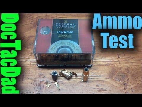 Federal Hydra-Shok 135gr 9mm - Ammo Test