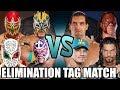 Download Lagu Sin Cara, Kalisto, Rey Mysterio & Metalik vs Reigns, Cena, Kane & Great Khali (Elimination Tag) Mp3 Free