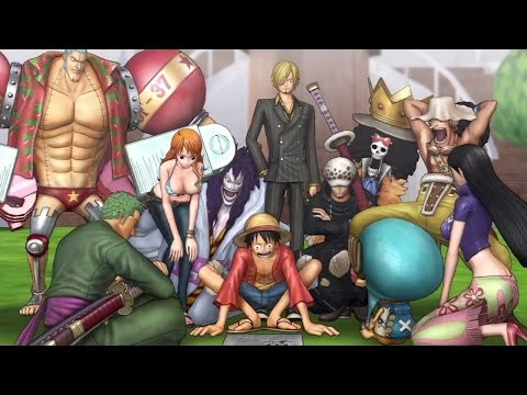 One Piece Pirate Warriors 3 en vidéo