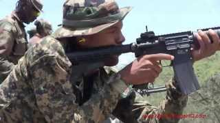 Marine Corps Training - Marines Train Allies At Tradewinds 2014