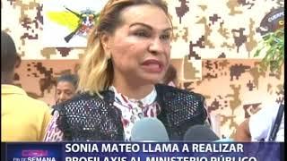 Sonia Mateo llama a realizar profilaxis en Ministerio Público