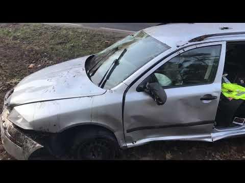 Wideo1: Wypadek przed Rydzyną